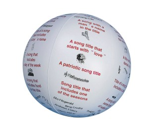 Toss 'n Talk-About® Ball, Music - Image 1 of 1