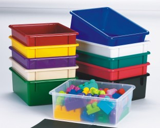 Large Plastic Storage Tubs, 11