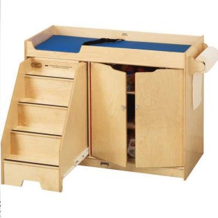 Jonti-Craft® Changing Table With Stairs - Image 1 of 1
