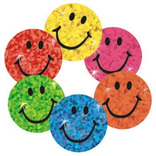 Trend® Sparkle Stickers Smiles (Pack of 400) - Image 1 of 1