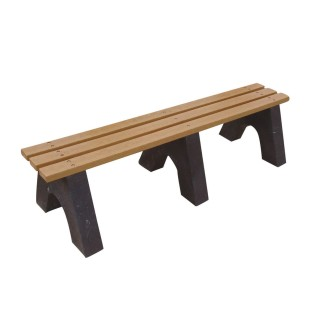 Backless Park Bench - Image 1 of 2