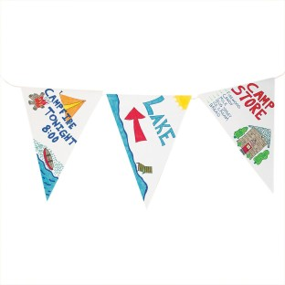 Pennant Flags (Pack of 50) - Image 1 of 2