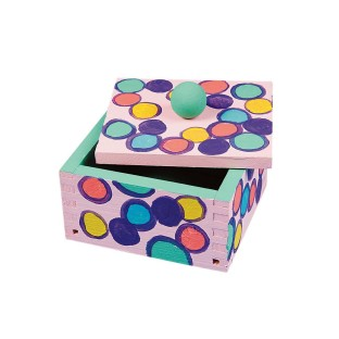 Wooden Construction Boxes Craft Kit (Pack of 12) - Image 1 of 4