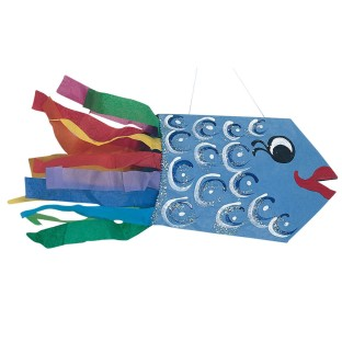 Catch The Fish Tail Craft Kit (Pack of 28) - Image 1 of 2