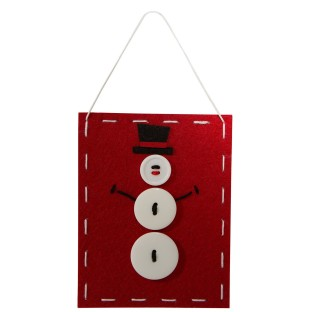 Snowman Banner Craft Kit (Pack of 12) - Image 1 of 2