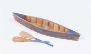 Unfinished Wooden Canoes (Pack of 6) - Image 1 of 1