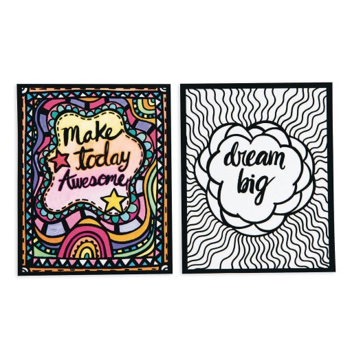 Pack of 24 S/&S Worldwide Positive Posters
