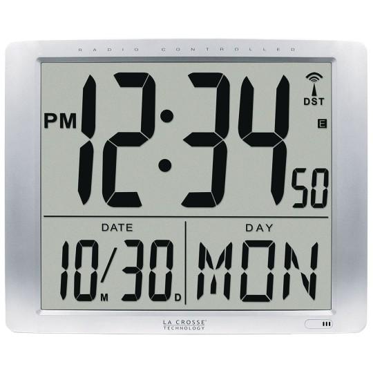 Buy Jumbo Digits Atomic Wall Clock at S&S Worldwide