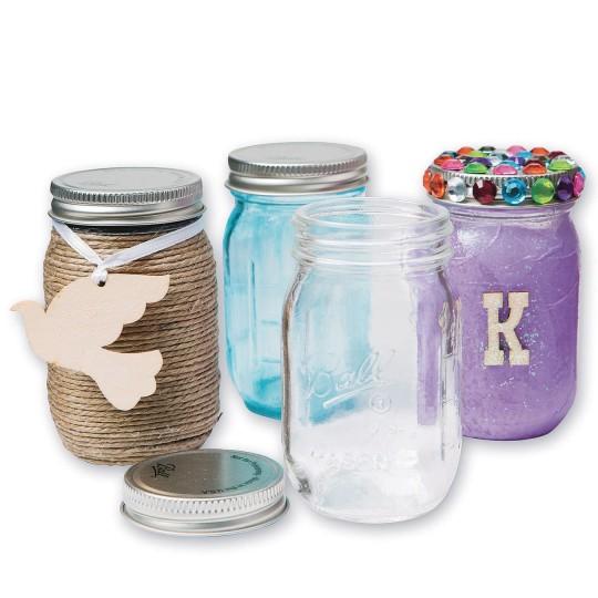 Buy Ball Mini Mason Jars With Lid 4 Oz At Ss Worldwide
