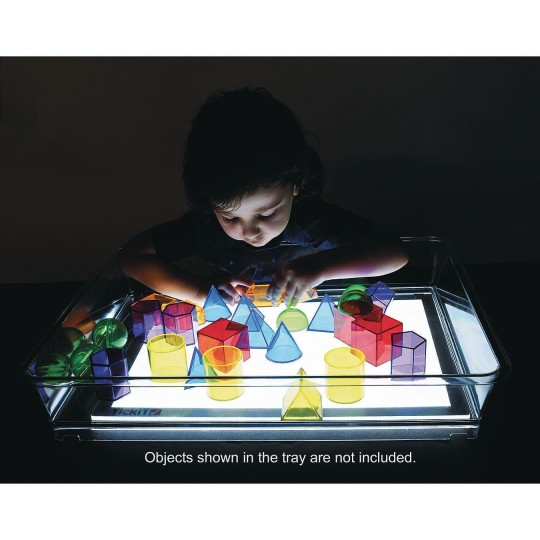 LED tray for education