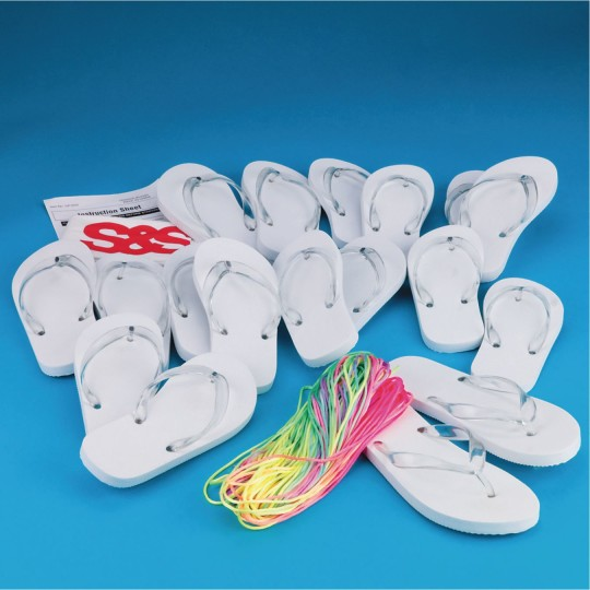 Buy Adult Size Flip Flops Craft Kit At S S Worldwide