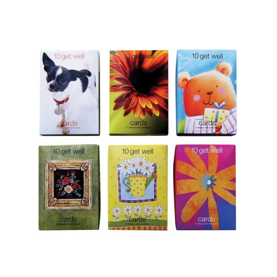 Buy Get Well Value Greeting Cards 12 Boxes Of 10 At SS
