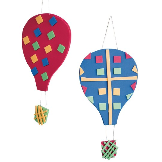 Hot Air Balloon Craft Kit Pack Of 48