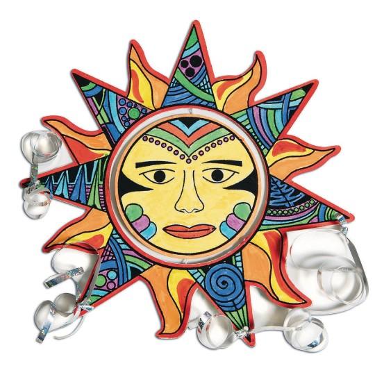 Buy Velvet Aztec Sun Mobile Craft Kit At S S Worldwide