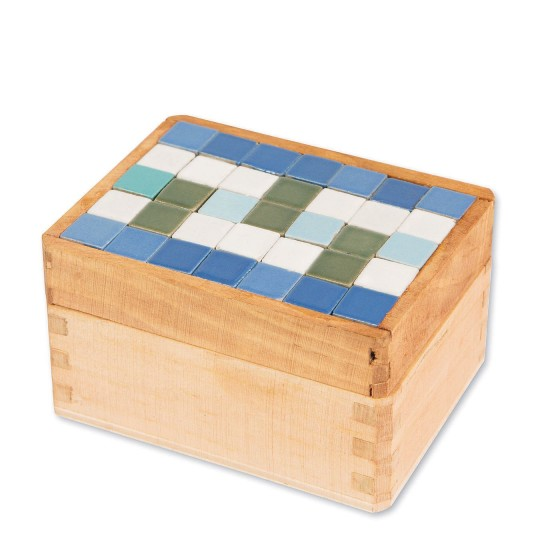 Unfinished Wood Trinket Boxes S/&S Worldwide Education WD50X12