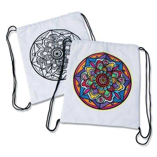 5066afea90a Buy Velvet Art Mandala Backpack (Pack of 12) at S&S Worldwide