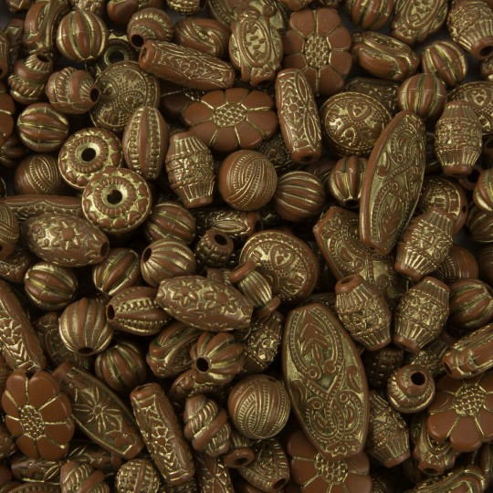 Moroccan Bead Mix 1//4 lb Bag