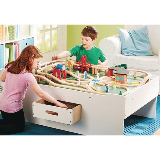 Buy Melissa Doug Deluxe Wooden Multi Activity Play Table At Ss